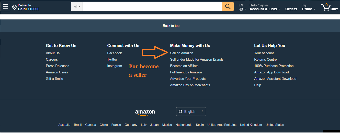How to sell my products on Amazon